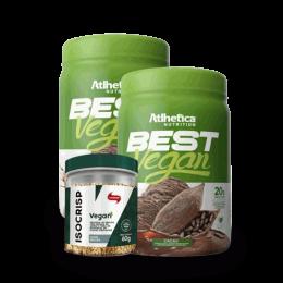 Combo Best Vegan + ISO Crisp Vegan (60g) BRINDE