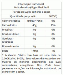 Maltodextrina Refil (1kg)