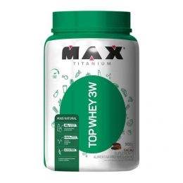 Top Whey 3w + Natural (900g) - cacau